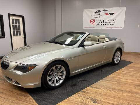 2006 BMW 6 Series for sale at Quality Autos in Marietta GA