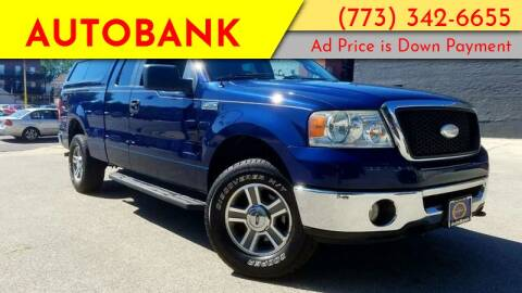 2008 Ford F-150 for sale at AutoBank in Chicago IL