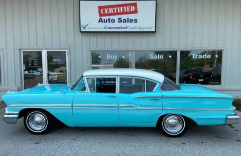 1958 Chevrolet Biscayne for sale at Certified Auto Sales in Des Moines IA