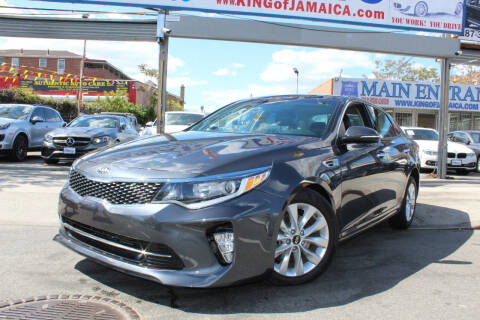 2018 Kia Optima for sale at MIKEY AUTO INC in Hollis NY