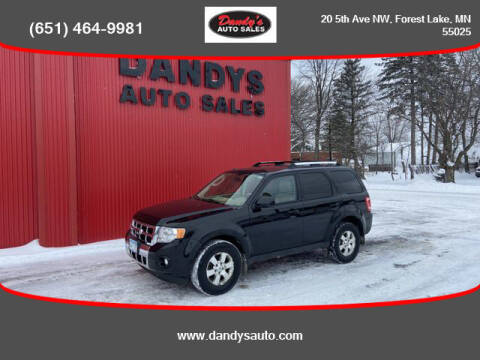 2012 Ford Escape for sale at Dandy's Auto Sales in Forest Lake MN