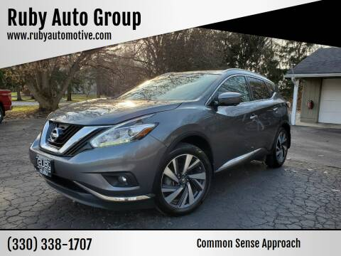 2017 Nissan Murano for sale at Ruby Auto Group in Hudson OH