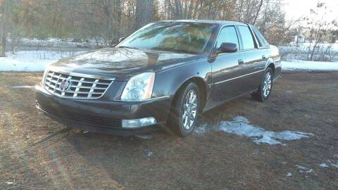 2008 Cadillac DTS for sale at Expressway Auto Auction in Howard City MI