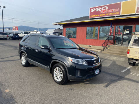 2015 Kia Sorento for sale at Pro Motors in Roseburg OR