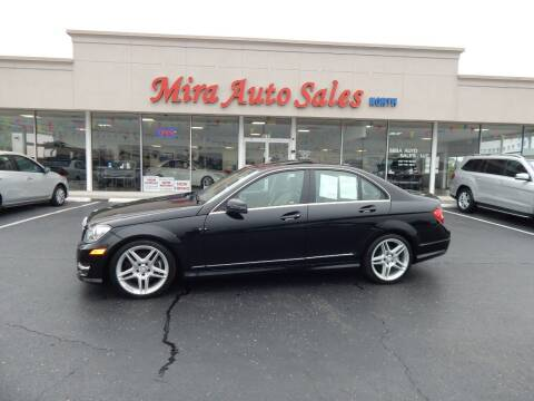 2013 Mercedes-Benz C-Class for sale at Mira Auto Sales in Dayton OH