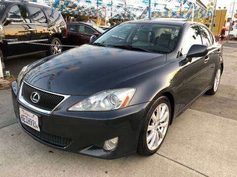 2008 Lexus IS 250 for sale at Plaza Auto Sales in Los Angeles CA