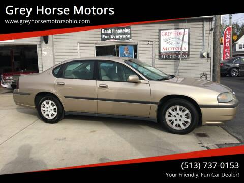 2004 Chevrolet Impala for sale at Grey Horse Motors in Hamilton OH
