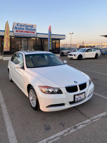2007 BMW 3 Series for sale at Carland Auto Sales in Sacramento CA