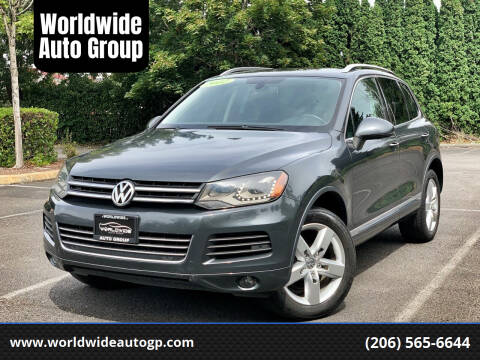 2012 Volkswagen Touareg for sale at Worldwide Auto Group in Auburn WA