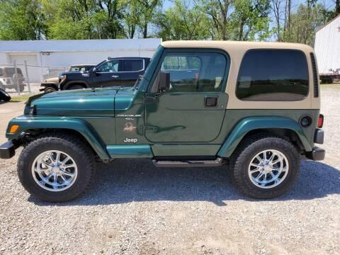 2000 Jeep Wrangler for sale at Grace Motors in Evansville IN
