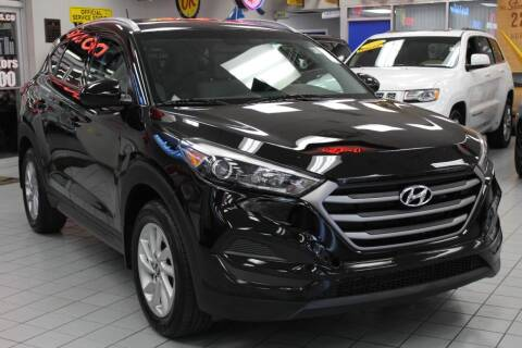 2016 Hyundai Tucson for sale at Windy City Motors in Chicago IL