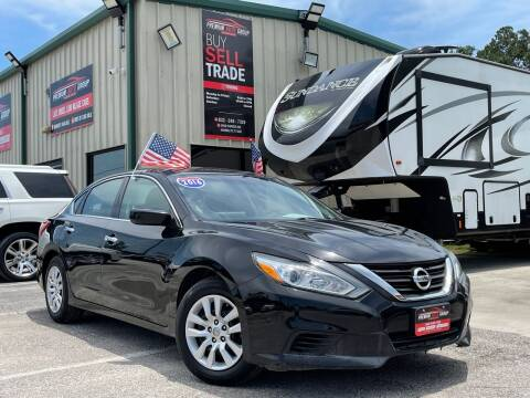 2016 Nissan Altima for sale at Premium Auto Group in Humble TX