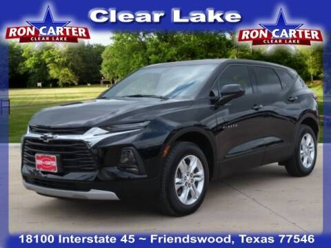 2019 Chevrolet Blazer for sale at Ron Carter  Clear Lake Used Cars in Houston TX