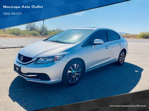 2015 Honda Civic for sale at Maricopa Auto Outlet in Maricopa AZ