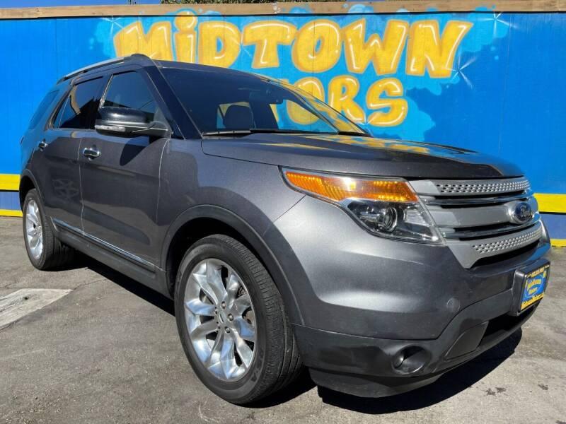 2014 Ford Explorer for sale at Midtown Motors in San Jose CA