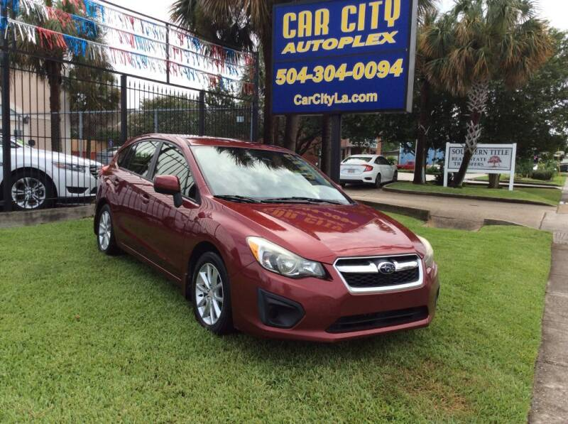 2014 Subaru Impreza for sale at Car City Autoplex in Metairie LA