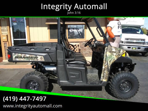 2015 Polaris Ranger 570 for sale at Integrity Automall in Tiffin OH
