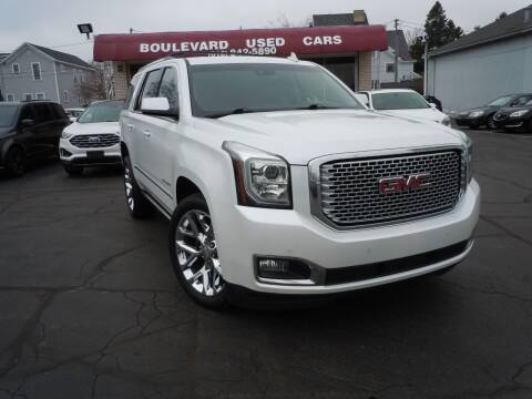 2016 GMC Yukon for sale at Boulevard Used Cars in Grand Haven MI