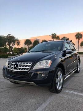 2009 Mercedes-Benz M-Class for sale at GERMANY TECH in Boca Raton FL