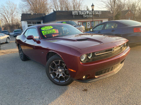 2018 Dodge Challenger for sale at Rite Track Auto Sales in Canton MI