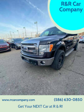 2014 Ford F-150 for sale at R&R Car Company in Mount Clemens MI