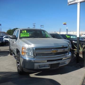 2012 Chevrolet Silverado 1500 for sale at Luxor Motors Inc in Pacoima CA