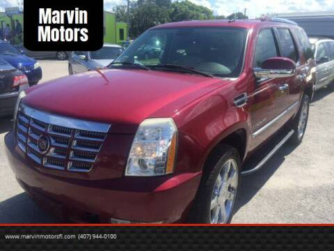 2007 Cadillac Escalade for sale at Marvin Motors in Kissimmee FL