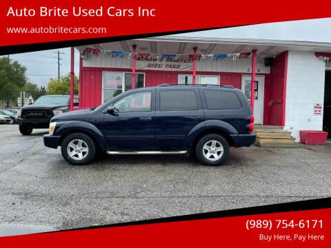 2005 Dodge Durango for sale at Auto Brite Used Cars Inc in Saginaw MI