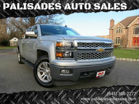 2015 Chevrolet Silverado 1500 for sale at PALISADES AUTO SALES in Nyack NY