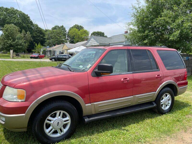 2003 Ford Expedition for sale at Gibson Automobile Sales in Spartanburg SC