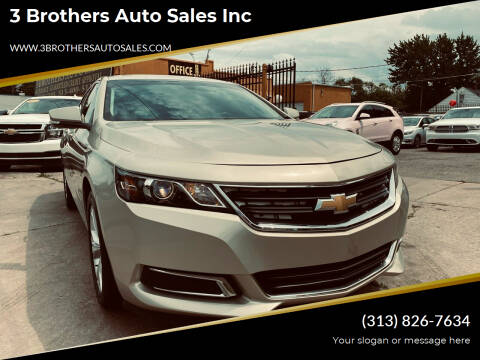 2014 Chevrolet Impala for sale at 3 Brothers Auto Sales Inc in Detroit MI