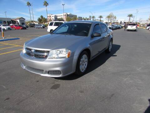 2014 Dodge Avenger for sale at Charlie Cheap Car in Las Vegas NV