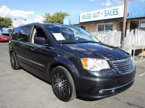 2014 Chrysler Town and Country for sale at Salem Auto Sales in Sacramento CA