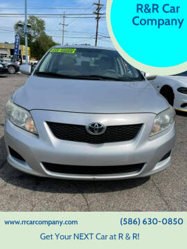 2010 Toyota Corolla for sale at R&R Car Company in Mount Clemens MI