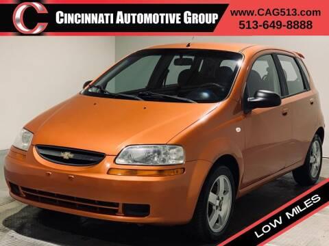 2006 Chevrolet Aveo for sale at Cincinnati Automotive Group in Lebanon OH