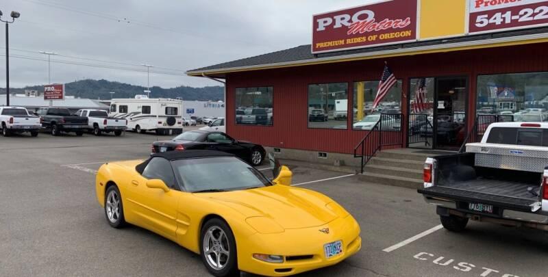 2004 Chevrolet Corvette for sale at Pro Motors in Roseburg OR