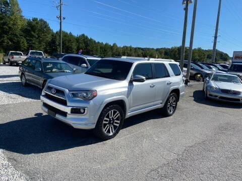2015 Toyota 4Runner for sale at Billy Ballew Motorsports in Dawsonville GA