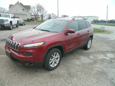 2017 Jeep Cherokee for sale at Pro Auto Sales in Flanagan IL