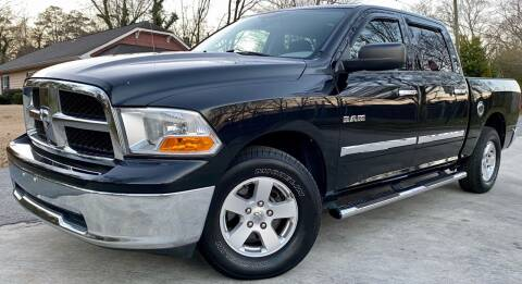 2010 Dodge Ram Pickup 1500 for sale at E-Z Auto Finance in Marietta GA
