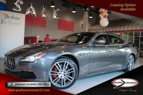 2017 Maserati Quattroporte for sale at Quality Auto Center in Springfield NJ