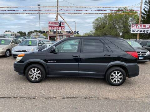 2002 Buick Rendezvous for sale at Affordable 4 All Auto Sales in Elk River MN
