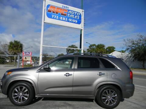 2013 Kia Sorento for sale at APC Auto Sales in Fort Pierce FL