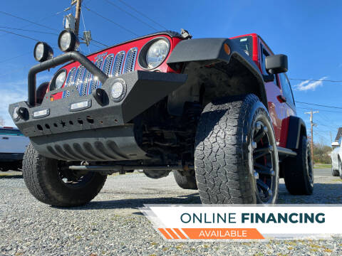 2011 Jeep Wrangler for sale at Prime One Inc in Walkertown NC