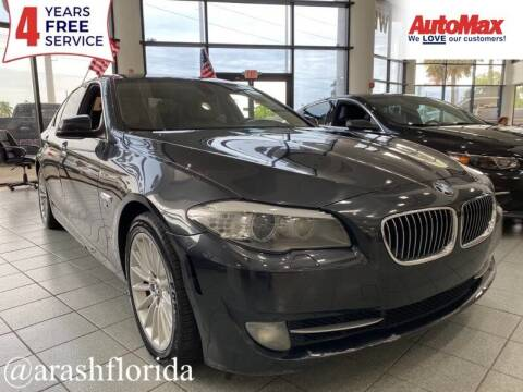 2011 BMW 5 Series for sale at Auto Max in Hollywood FL