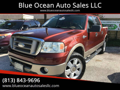 2006 Ford F-150 for sale at Blue Ocean Auto Sales LLC in Tampa FL