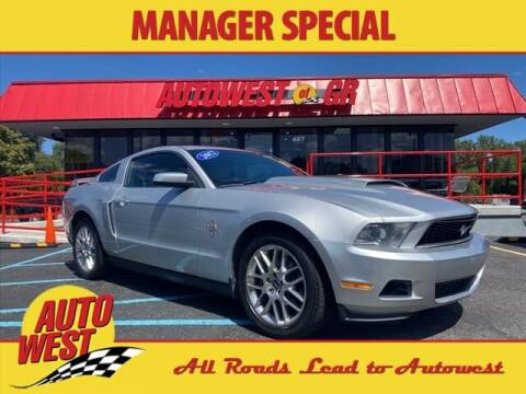 2012 Ford Mustang for sale at Autowest of GR in Grand Rapids MI