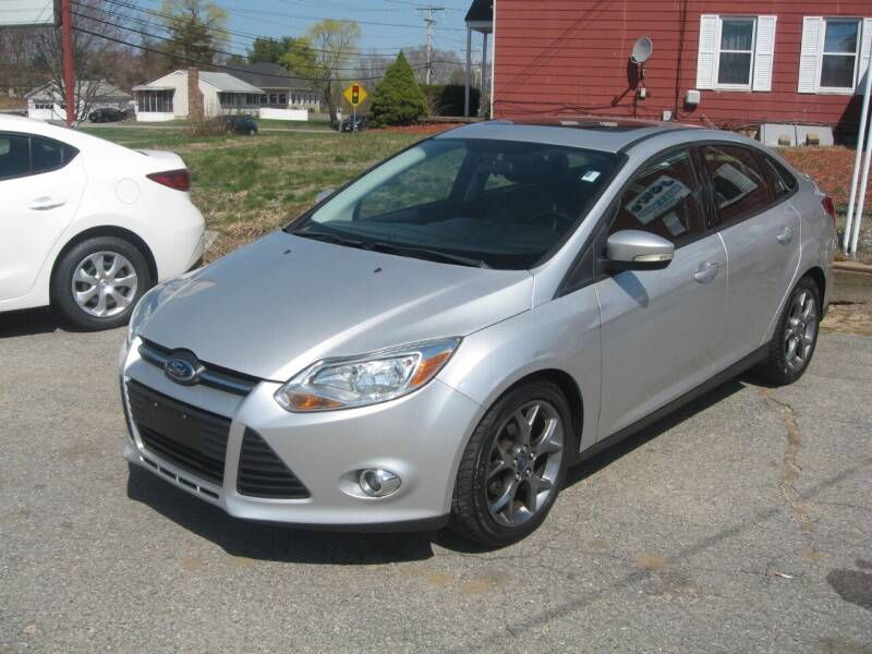 2013 Ford Focus for sale at Joks Auto Sales & SVC INC in Hudson NH