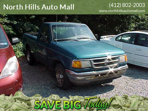 1997 Ford Ranger for sale at North Hills Auto Mall in Pittsburgh PA