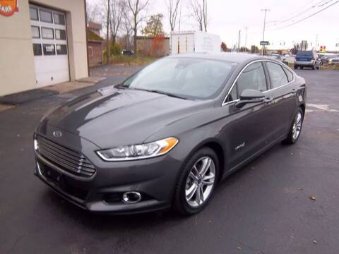 2016 Ford Fusion Hybrid for sale at Brian's Sales and Service in Rochester NY