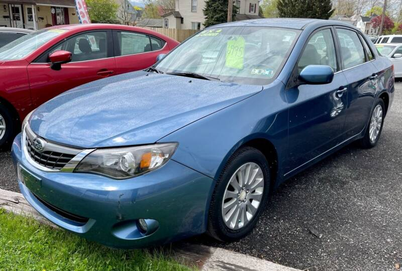 2009 Subaru Impreza for sale at Mayer Motors of Pennsburg in Pennsburg PA
